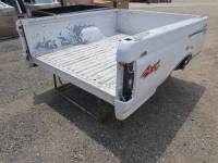 80-96 Ford F-150/F-250/F-350 Truck Beds - 6.5ft Short Bed - Used 87-96 Ford F-150/F-250/F-350 Dual Tank 6.5ft White Short Bed