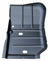 Floor Pan - Jeep - Key Parts - 07-18 Jeep Wrangler/Wrangler Unlimited LH Driver's Side Front Floor Pan Sections