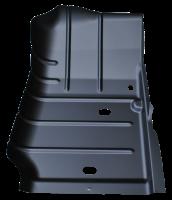 Floor Pan - Jeep - Key Parts - 07-18 Jeep Wrangler/Wrangler Unlimited RH Passenger's Side Front Floor Pan Sections