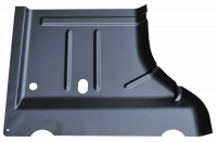 Floor Pan - Jeep - Key Parts - 07-18 Jeep Wrangler/Wrangler Unlimited LH Driver's Side Rear Floor Pan Sections