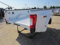 Ford Truck Beds - 17-C Ford F-250/F-350 Super Duty Truck Beds - New 17-C Ford F-250/F-350 Super Duty White 8' Long Dually Bed Truck Bed
