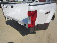 17-C Ford F-250/F-350 Super Duty Truck Beds - Dually Bed - New 17-C Ford F-250/F-350 Super Duty Pearl White/Gold 8ft Long Dually Bed Truck Bed