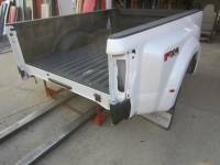 Ford Truck Beds - 17-C Ford F-250/F-350 Super Duty Truck Beds - New 17-C Ford F-250/F-350 Super Duty Pearl White 8' Long Dually Bed Truck Bed