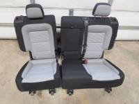 New and Used OEM Seats - Chevy/GMC Replacement Seats - 11-18 Chevy Equinox OEM Black Cloth 2nd Row Rear 60/40 Bench Seat