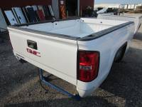 14-18 GMC Sierra - 8ft Long Bed - New 14-18 GMC Sierra White 8ft Long Truck Bed