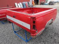 88-98 Chevy/GMC CK Truck Beds - 6.5' Short Bed - Used 88-98 Chevy CK Red 6.5' Short Truck Bed