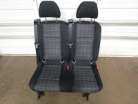 New and Used OEM Seats - Mercedes Benz Replacement Seats - 16-18 Mercedes Benz Metris Van Black Cloth 2nd Row Bench Seat