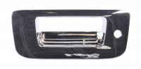Tailgate - Chevy - 07-14 Chevy Silverado/GMC Sierra Tailgate Handle Bezel, Chrome Plated, w/ Key Hole, w/o Camera