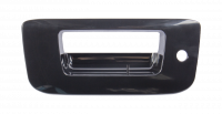 Tailgate - Chevy - 07-14 Chevy Silverado/GMC Sierra Tailgate Handle Bezel, Smooth Black, w/ Key Hole, w/o Camera
