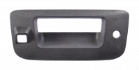 Tailgate - Chevy - 07-14 Chevy Silverado/GMC Sierra Tailgate Handle Bezel, Textured Black, w/ Key Hole, w Camera