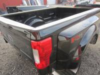 Ford Truck Beds - 17-C Ford F-250/F-350 Super Duty Truck Beds - Used 17-C Ford F-250/F-350 Super Duty Black 8' Long Dually Bed Truck Bed