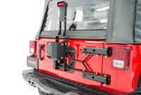 Auto Body Panels - Exterior - 07-18 Jeep Wrangler Heavy-Duty Spare Tire Carrier