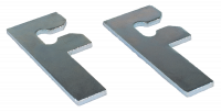 "Fender - Chevy - Key Parts - 67-72 Inner Fender To Firewall ""F"" Shim Pack, 2-Piece"