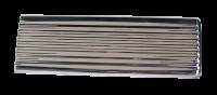 Auto Body Panels - Interior - Key Parts - 47-53 Stainless Steel Glove Box Door