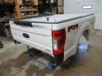 Ford Truck Beds - 17-C Ford F-250/F-350 Super Duty Truck Beds - New 17-C Ford F-250/F-350 Super Duty White 6.9ft Short Truck Bed