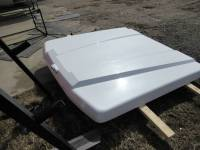 Used 15-C Ford F-150 5.5ft Bed White Platinum ARE LSX Series Tonneau Lid - Image 9