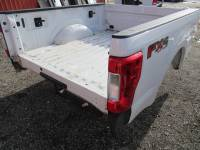 17-C Ford F-250/F-350 Super Duty Truck Beds - 6.9ft Short Bed - Used 17-C Ford F-250/F-350 Super Duty White 6.5ft Short Bed Truck Bed