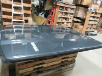 Used 15-18 Ford F-150 6.5ft Short Bed Guard Effect Metallic Undercover Elite LX Truck Lid - Image 4