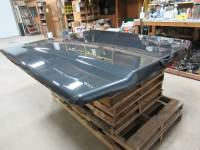 Used 15-18 Ford F-150 6.5ft Short Bed Guard Effect Metallic Undercover Elite LX Truck Lid - Image 9