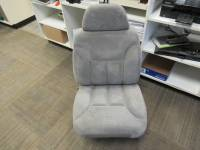 New and Used OEM Seats - Chevy/GMC Replacement Seats - Used 94-98 Chevy/GMC CK Truck Gray Cloth 60/40 RH Passenger Bucket Seat