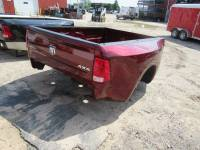 09-18 Dodge Ram Truck Beds - Dually Bed - New 10-18 Dodge RAM 3500 8ft Burgundy Dually Truck Bed
