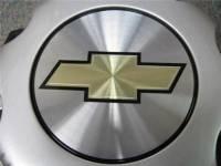01-10 Chevrolet Silverado 2500 3500 Truck Van 8 Lug OEM Silver Center Caps(Set of 4) - Image 3