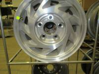 Wheels - Ford Wheels - 1993-2003 Ford E150 Van 5 Lug 15 in. Silver Aluminum Wheels