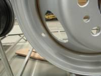 76-12 Chevy/GMC C10/C20/C30/K10/K20/K30 16 x 6  8 Lug Silver Steel Wheel - Image 2
