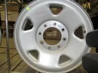 Wheels - Ford Wheels - 05-10 Ford F-250/F-350 8 Lug 17x7.5 Silver Steel Wheels