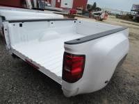 14-18 Chevy Silverado - Dually Bed - New 15-18 Chevy Silverado/GMC Sierra 3500 Dually White 8ft Long Truck Bed