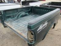 97-03 Ford F-150 Truck Beds - 6.5ft Short Bed - Used 97-03 Ford F-150 Green 6.5ft Short Truck Bed