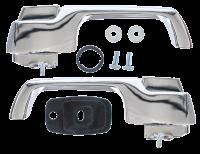 Door Parts - Chevy - Key Parts - 1967 CHEVY/ GMC C-10/Suburban/Panel Outside Door Handle Set w/ Hardware