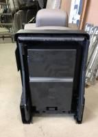 17-19 Ford F-250/F-350/F-450 SD OEM TAN 40-20-40 Cloth Jump Seat Center Console - Image 13