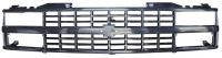 Grille - Chevy - Key Parts - 88-93 Chevy/GMC C/K Series Pickup and 92-93 Suburban/Blazer Grille