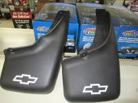 Mud Flaps - Chevy/GMC Mud Flaps - 99-06 Chevy/GMC OEM W/ Flares Mud Flap Guard Black Right Front and Rear