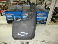 Mud Flaps - Chevy/GMC Mud Flaps - 99-06 Chevy/GMC OEM W/ Flares Mud Flap Guard Black Rear Right and Left