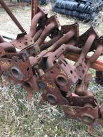 Trailer Hitches - Dodge Trailer Hitches - 03-08 Dodge Ram 1500/2500/3500 Reinforcement Bar ONLY (All Rusty) (Does not have the Hitch on it)