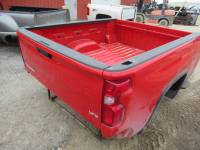 20-C Chevy Silverado HD - 6.9ft Short Bed - New 20-C Chevy Silverado HD Red 6.9ft Short Truck Bed
