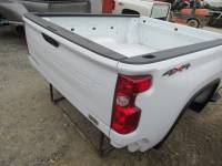 20-C Chevy Silverado HD - 6.9ft Short Bed - New 20-C Chevy Silverado HD White 6.9ft Short Truck Bed