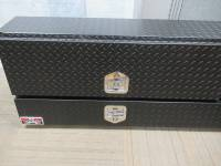 Unique 88-inch Contr Topsider Black Textured Truck Toolbox - Image 3