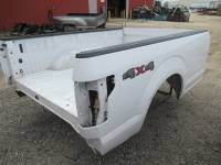 15-C Ford F-150 Truck Beds - 8ft Long Bed - Used 15-C Ford F-150 White 8ft Long Truck Bed