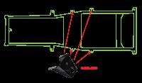 Key Parts - 76-86 Jeep CJ5/CJ7 Intermediate Frame Side Body Mount - Image 2