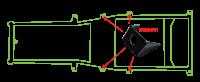 Key Parts - 87-95 Jeep Wrangler Intermediate Body Mount - Image 2