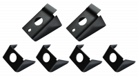 Truck Bed Repair Panels - Jeep - Key Parts - 87-95 Jeep Wrangler 6 Piece Body Mount Kit