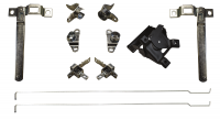 Handle/Parts - Chevy - Key Parts - 81-87 Chevy/GMC Fleetside Tailgate 11 Pieces Hardware Kit