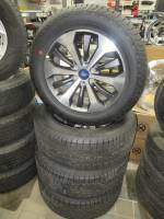 """Takeoff Wheels & Tires - Ford Truck and Van Wheels & Tires - 04-19 Ford F-150 6 Lug 20"""" Machined Aluminum Wheels w/ Gray Inlay & Hankook Dynapro AT2 275/55R20"""