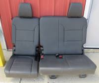 New and Used OEM Seats - Chevy/GMC Replacement Seats - 2019-2020 Chevy Traverse 3rd Row Cargo Seat Jet Black Leather Rear Seat