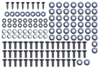 Fender - Chevy - Key Parts - 47-5 Chevy/GMC Pickup/Suburban/Panel 1st Series Stainless Steel Front Fender Bolt Kit, 144pc