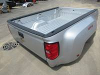 14-18 Chevy Silverado - Dually Bed - New 15-18 Chevy Silverado/GMC Sierra 3500 Dually Silver 8ft Long Truck Bed