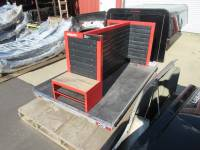 Clearance Corner - Miscellaneous Parts - Used CG1200 Cargo Glide with HILTI Tool Box Shelves